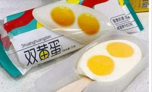 奥雪双黄蛋雪糕今年第三次被检出项目不合格